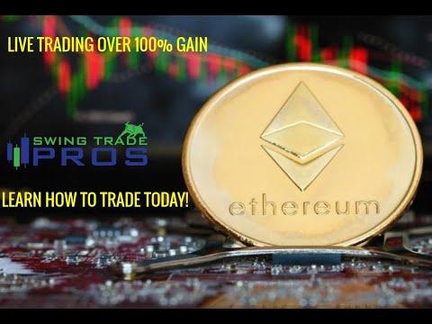 Crypto portfolio swing trading
