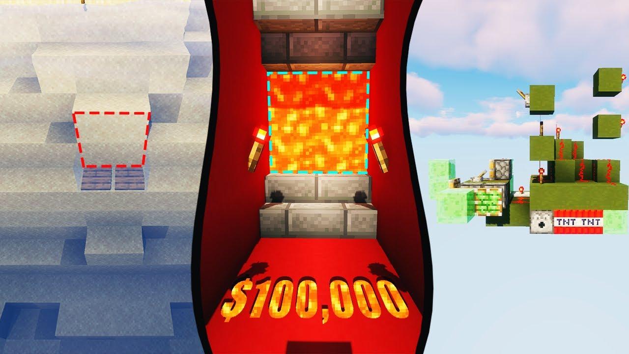 Best Redstone Builder Wins $12,12 - Minecraft