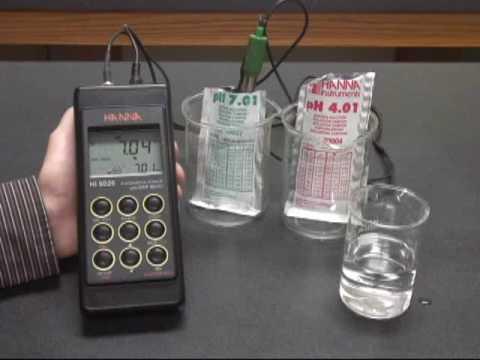 Hi 9026 Ph Meter Calibration Youtube