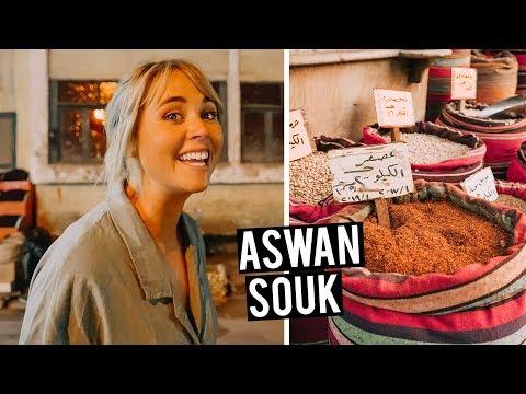 Surviving an Egyptian Market + Trying Local Aswan Dish