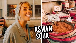 Surviving an Egyptian Market + Trying Local Aswan Dish