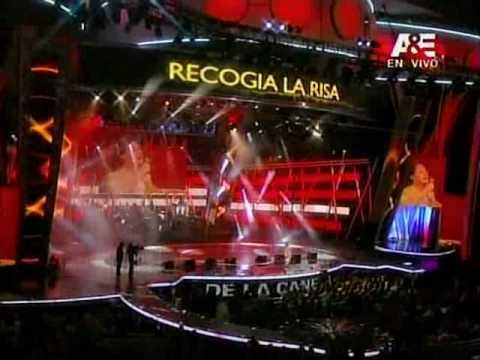 Sandra Muente canta por 2da vez