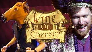 Wine or Cheese: The LIVE Show! (+ Extras)