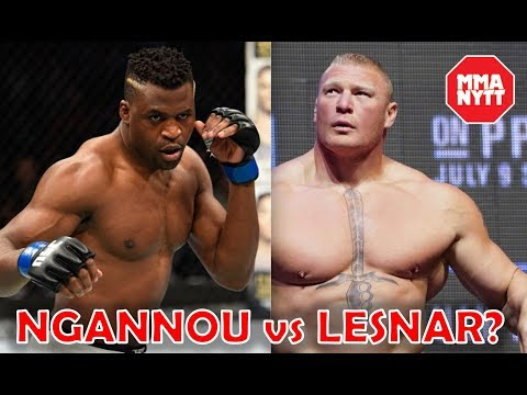 Brock Lesnar Is An 'Easy Fight' For Francis Ngannou l UFC 220