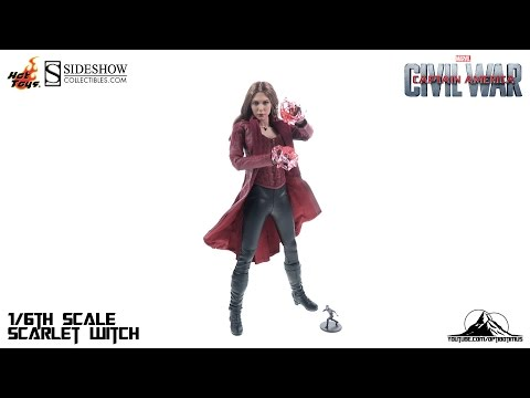 Optibotimus Reviews: Hot Toys Captain America Civil War SCARLET WITCH