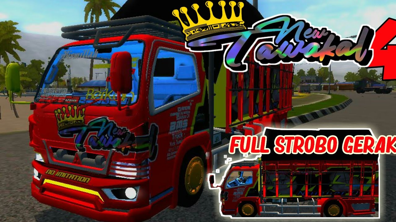 Rilis!!..Mod Bussid New Tawakal 4  FullStrobo