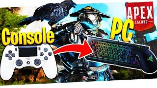 """""""Console's Easy, Try PC!"""" - Console Player Trying PC Apex Legends!"""