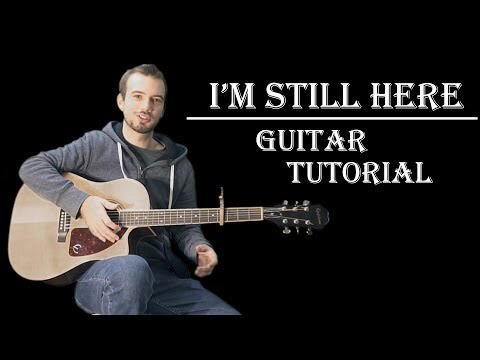 How to Play quotI39m Still Herequot from Treasure Planet Guitar