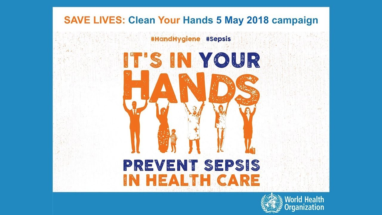 photograph relating to Free Printable Hand Washing Posters named WHO Conserve Life: Fresh new Your Arms 5 Might 2018