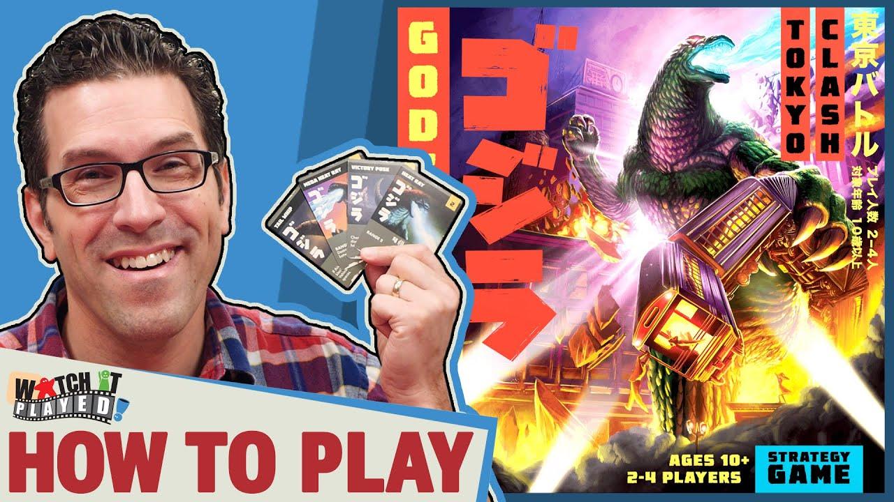 Godzilla: Tokyo Clash – How To Play