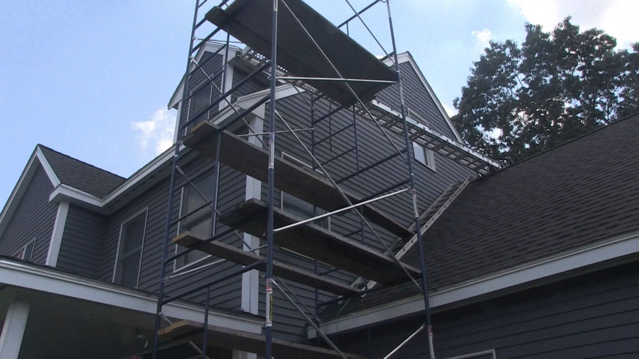 Home Depot Scaffolding First Use Youtube