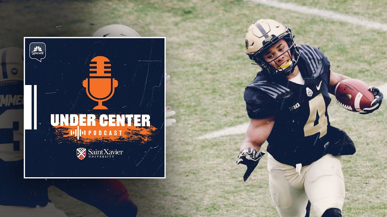 2021 NFL Draft prospects Rondale Moore, Amari Rodgers on link with Bears | Under Center Podcast