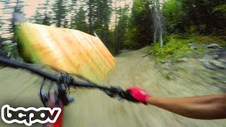 IT'S LIKE CRANK IT UP IN WHISTLER, BUT FREE!   Riding in Kimberley BC - Dirt Epic 8
