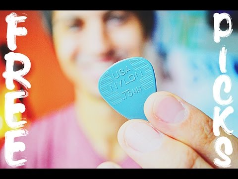 FREE GUITAR PICKS FOR EVERYBODY! // CLICK HERE!!
