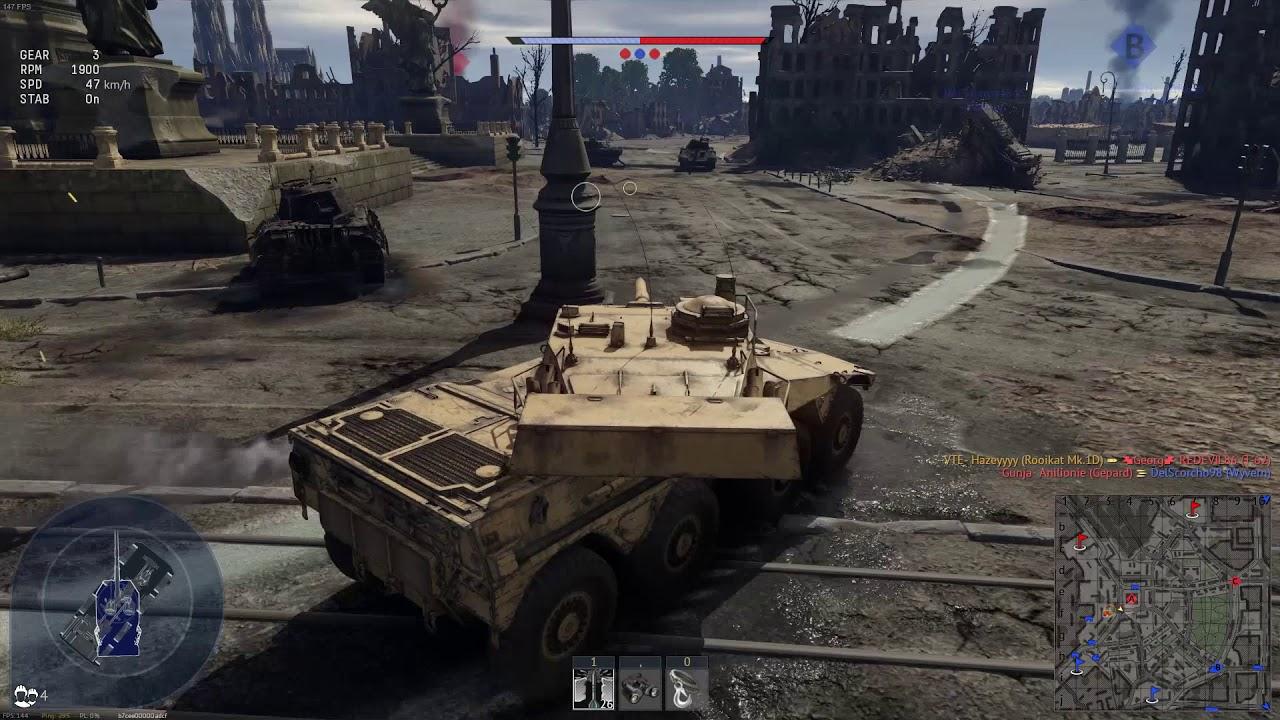 Warthunder 1.95   Rooikat -I AM SPEED