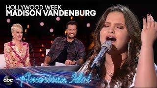 "Madison VanDenburg sings ""Already Gone"" by Kelly Clarkson at AMERICAN IDOL HOLLYWOOD WEEK"