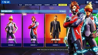 New SKIN VERSA and SKIN ETHER IN THE FORTNITE BOUTIQUE of MAY 19th! LIVE