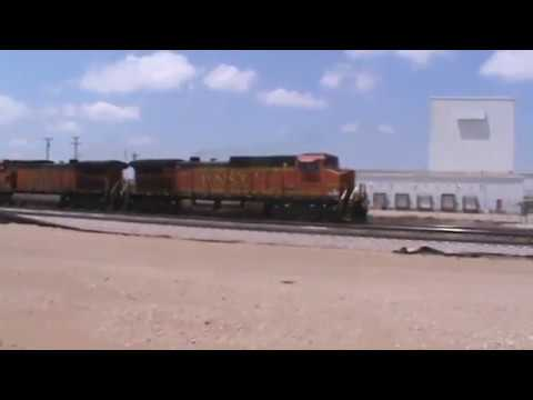 BNSF / UP general Freight Tulsa, OK 6/11/17 vid 8 of 9