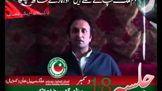 Pakistan Tehreek Insaf Jasla in Pindi Gheb Attock.flv