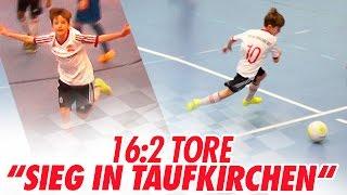 16:2 Tore - U12 Sieg in Taufkirchen