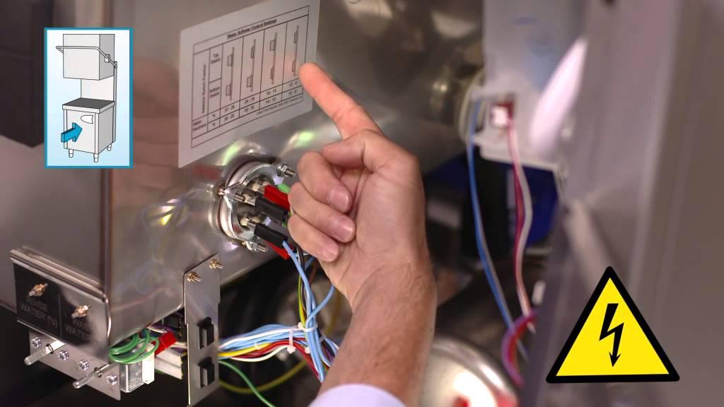 hydro 857 inbetriebnahme wasserenthärter hauben-spülmaschine für ... - Geschirrspüler Großküche