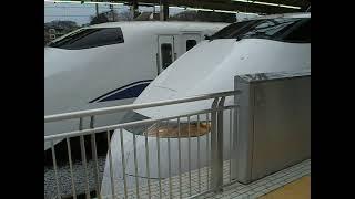 東海道新幹線 300系ひかり号 新横浜駅発車