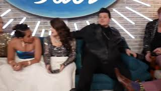 LIVE Backstage with our TOP 8 - American Idol on ABC