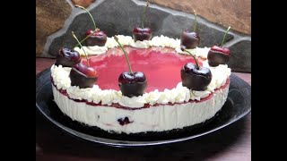 BLACK FOREST CHEESECAKE RECIPE  AUSSIE GIRL CAN COOK