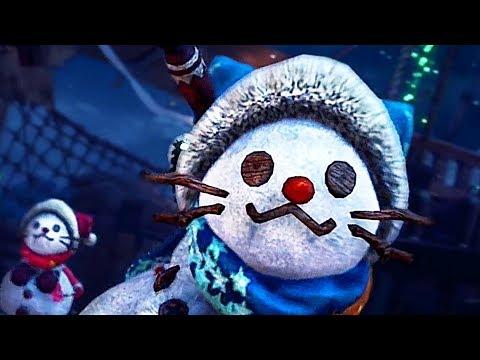 """MONSTER HUNTER: WORLD Bande Annonce """"Winter Star Fest"""" (2018) thumbnail"""