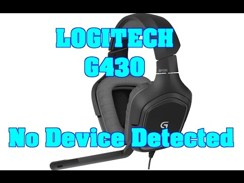 Logitech usb headset not detected windows 7