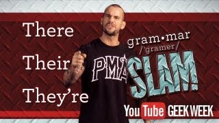 CM Punk's Grammar Slam - There / Their / They're