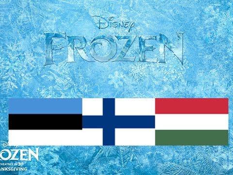 Frozen -Let It Go- Finno-Ugric Multilanguage
