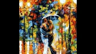 """Леонид Афремов """"Танец под дождем"""". Обзор набора картины по номерам."""