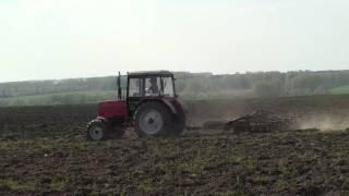 Обробка грунту, трактор МТЗ 892 БІЛОРУСЬ