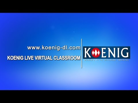 Koenig Live Virtual Classroom