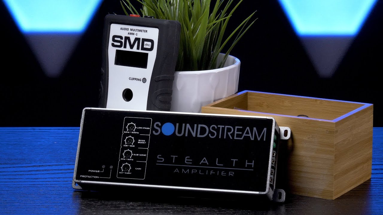 Soundstreams St11000d Stealth Testing 500w Rms 2 Ohm Output Sra5002 Channel Car Power Amplifier Amp 8 Gauge Wiring Kit