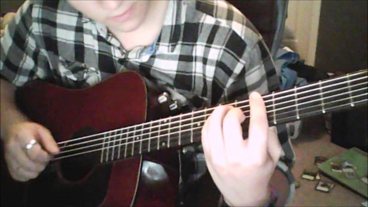 Never Shout Never Subliminal Messages Guitar Tutorial Youtube
