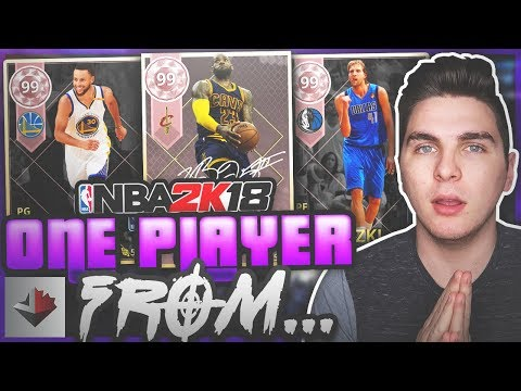 ONE PLAYER FROM THE LAST 13 NBA CHAMPIONS! NBA 2K18 SQUAD BUILDER