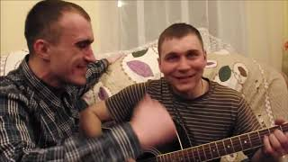 Ефимов Анатолий с друзьями с гитарой