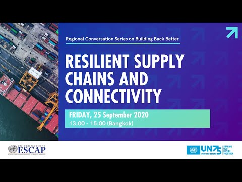 Resilient Supply Chains and Connectivity