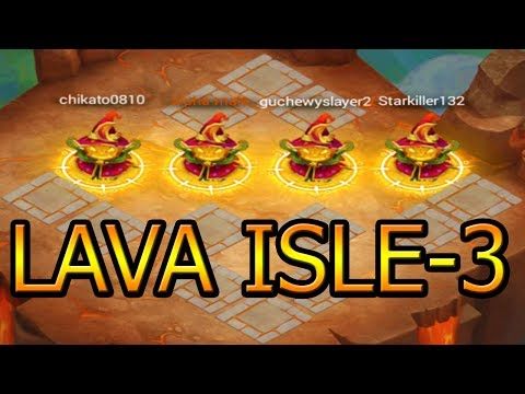 100% HOW TO BEAT LAVA ISLE-3 EVERY TIME!!!
