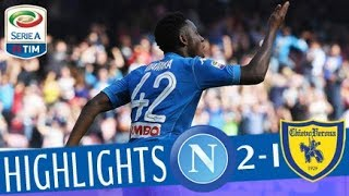 Napoli - Chievo 2-1 - Highlights - Giornata 31 - Serie A TIM 2017/18 streaming