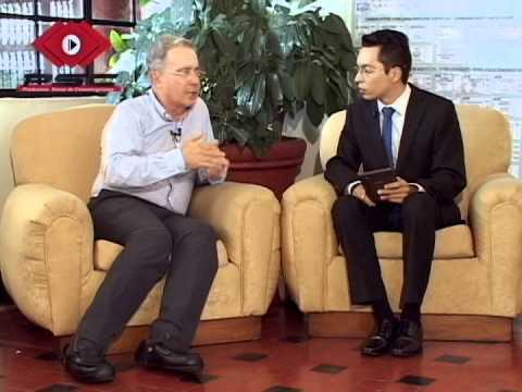 ÁLVARO URIBE VÉLEZ EX PRESIDENTE DE COLOMBIA EN EXCLUSIVA PARA PSC TELEVISIÓN