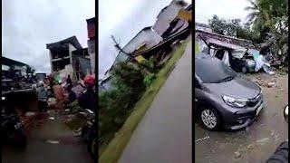 Indonesia: terremoto di magnitudo 6.2 fa crollare decine di edifici