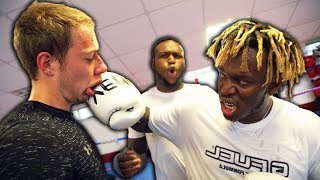 I Trained With KSI For a Day and THIS happened...