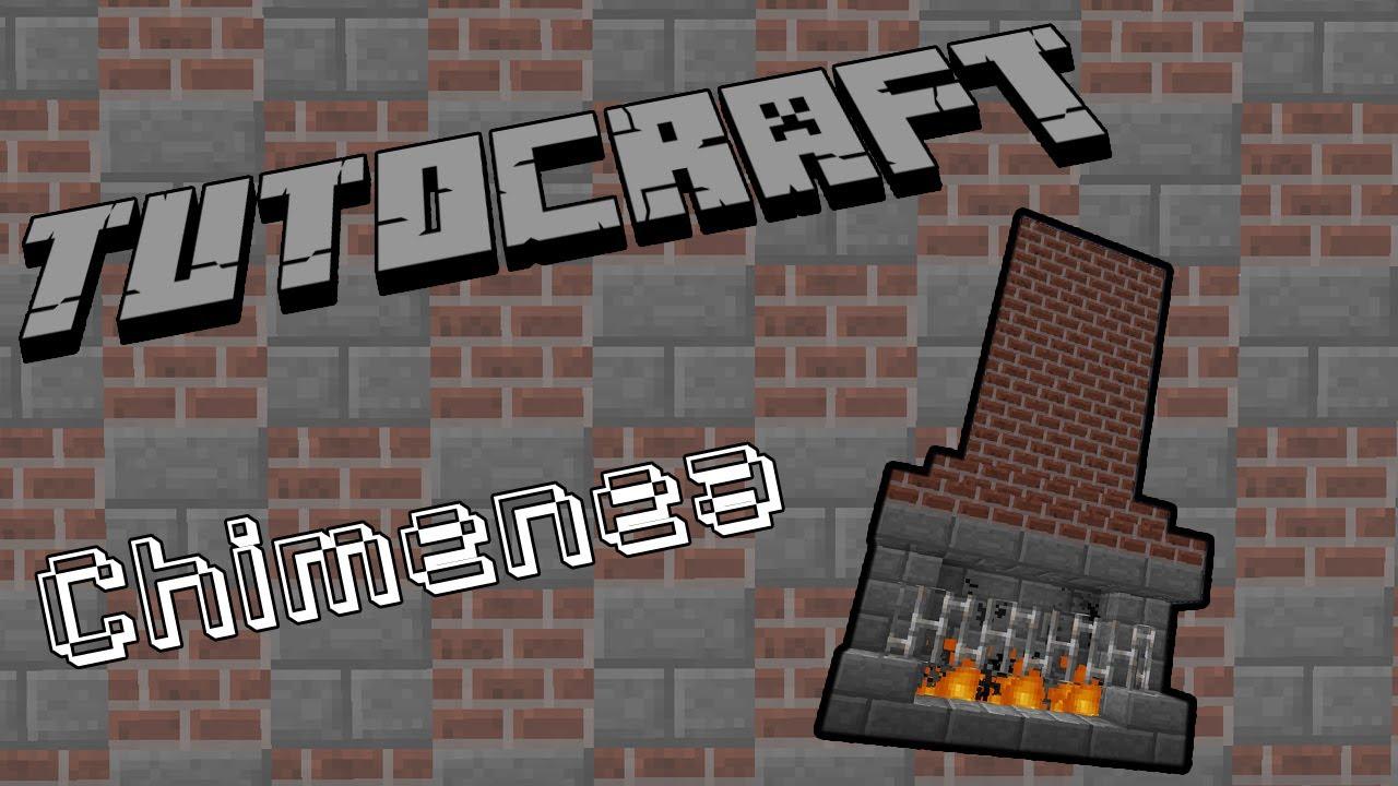 C mo hacer una chimenea en minecraft tutocraft 8 - Como se construye una chimenea ...