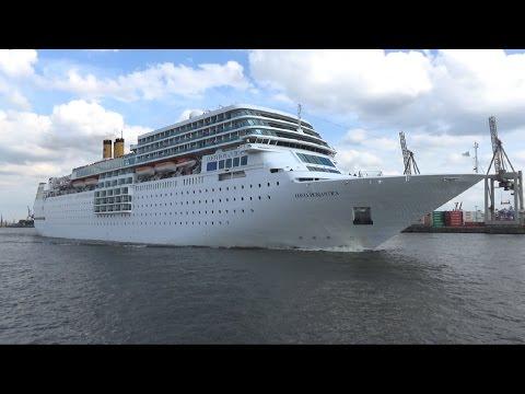 COSTA neoROMANTICA - Auslaufen Hamburg 1.6.2015