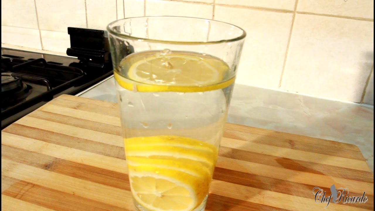Lemon Burn Fat And Detox Your Body Overnight Detox Your Body In One Day |  Recipes By Chef Ricardo
