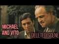The Godfather Michael and Vito Talk About Sicily Deleted Scene