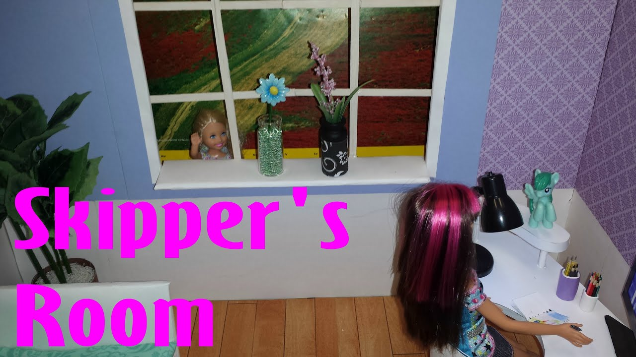 barbie - how to make skipper u0026 39 s room